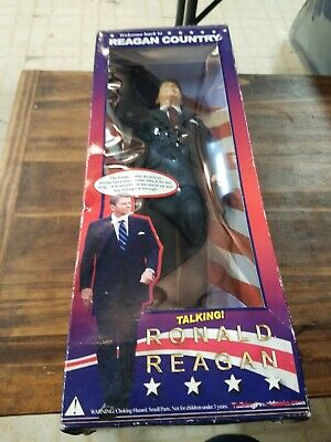 "Vintage President Ronald Reagan 12"" Talking Figure Doll see pictures"