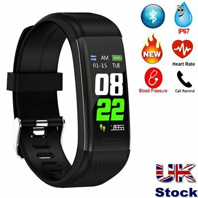 R1 New Smart Fitness Watch Activity Tracker Smartwatch Step Calorie Distance Uk