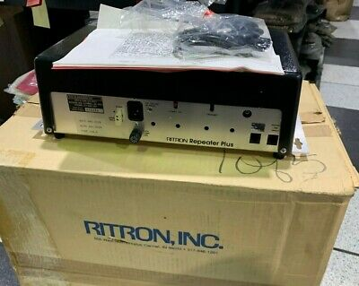 Ritron Repeater Plus UHF Two-Way Radio Repeater-BRAND NEW IN BOX!