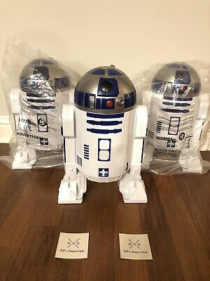 R2-D2 Droid Popcorn & Soda Dispenser AMC Star Wars Exclusive SHIPS IMMEDIATELY