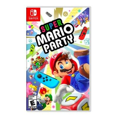 Super Mario Party (Nintendo Switch, 2018) - Excellent Condition - FAST FREE SHIP