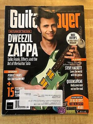 Guitar Player Magazine April 2019 Dweezil Zappa Cover Queensryche Steve Hackett