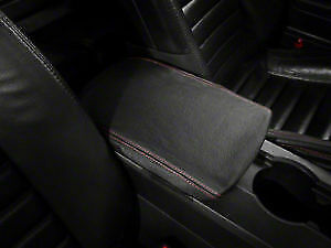 Fits 05-07 Chrysler 300 Synthetic Leather Armrest Console LidCover Yellow Stitch