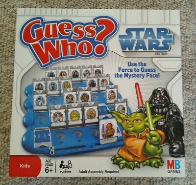 Star Wars Guess Who? Game 2008