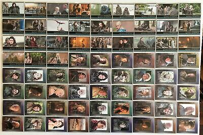 Game of Thrones Season 3 Trading Base Card Set 98 Cards