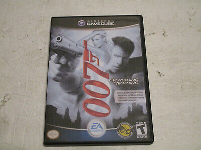 007 Everthing or Nothing(Nintendo GameCube, 2004) Used  TESTED VG Cond No Manual