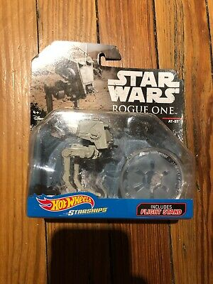 Star Wars Rogue One Hot Wheels Starships AT-ST Sealed Mint On Card Sealed  LQQK