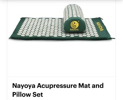 NAYOYA acupressure mat with pillow full size new in package