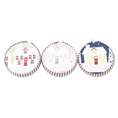 Mini Retractable Ruler Body Measure Sewing Tailor Cloth Soft Flat Tape WS