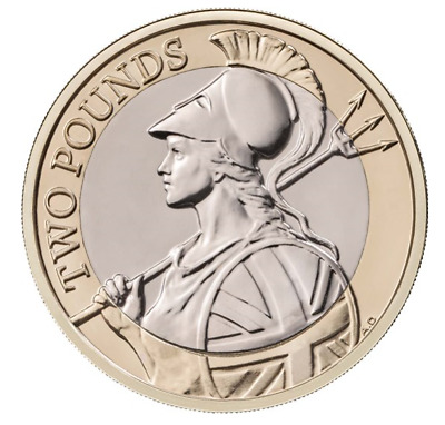 2020 Britannia £2 Two Pound Coin Brilliant Uncirculated BUNC UK Royal Mint set