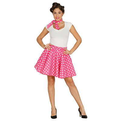 Vintage Rock with Polka Dots Hairband Rockabilly Costume 50er Years L 42-44