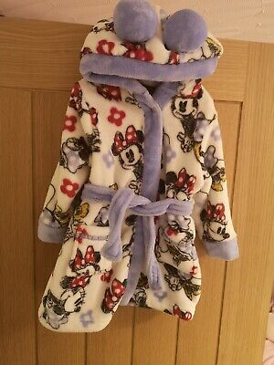 Girls Disney 12-18 Months Dressing Gown