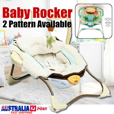 Baby Infant Rocker Bouncer Newborn Toddler Electric Swing Reclining Chair Toy