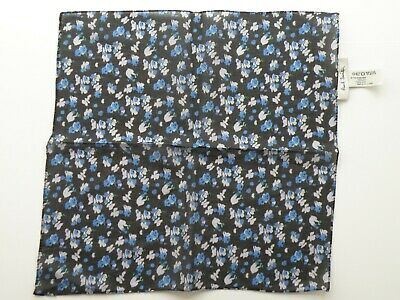 New Paul Smith Cotton Pocket Pochette Square Handkerchief Made In Italy