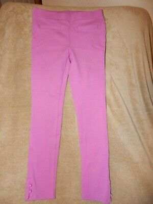 Gymboree Retail Girls Purple Equestrian Style Stretch Leggings Size 10