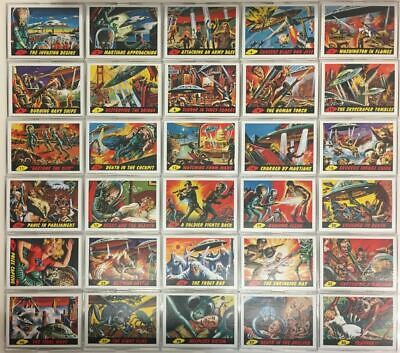 Mars Attacks Base Card Set 55 Cards Topps 2012