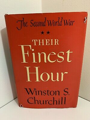 1949 The Second World War: Their Finest Hour by Winston S. Churchill