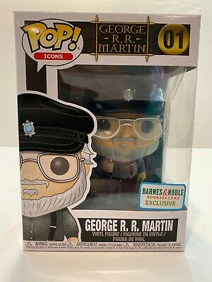 Funko Pop! Icons Game of Thrones George R R Martin #01 Barnes & Noble Exclusive