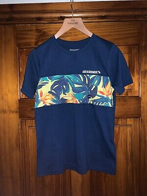 Boys Abercrombie & Fitch T Shirt Age 13-14 Brand New With From A Smoke Free Home