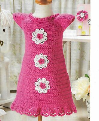 VINTAGE 1943 Little Mama/'s Lace Baby Dress//Crochet Pattern INSTRUCTIONS ONLY