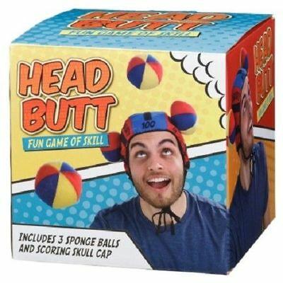 BUTTHEAD SKILL FAMILY GAME WITH VELCRO BALLS AND HEADPIECE STOCKING FILLER