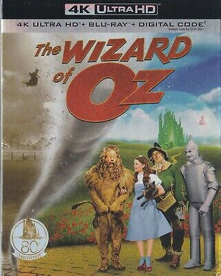 The Wizard Of Oz (4K Ultra Hd/Bluray)(2 Disc Set)(Used)