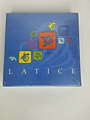 LATICE Board Game (Standard Edition) 2017 FACTORY SEALED NEW
