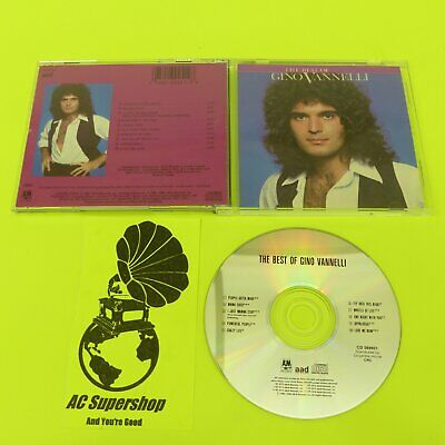Gino Vannelli the best of - CD Compact Disc
