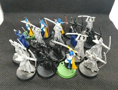 High Elf Warriors x 19 Rivendell Middle Earth SBG Lord of the Rings Hobbit