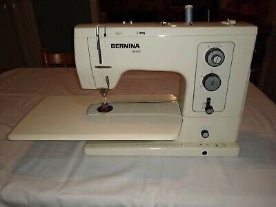 bernina 830 sewing machine.in excellent condition for its age. complete package.