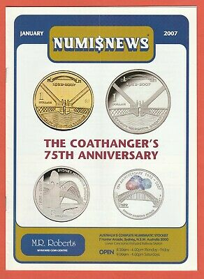 2007 Numisnews Booklets M R Roberts 11 monthly issues