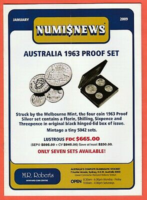 2009 Numisnews Booklets M R Roberts All 12 Monthly Issues