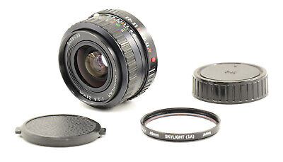 [EXC] MC Cosmicar 28mm F2.8 Wide Angle Lens For Pentax K Mount!