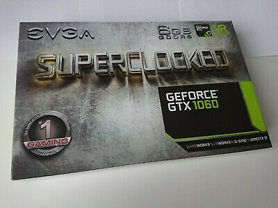 EVGA GeForce GTX 1060 6GB SC GAMING - 06G-P4-6163-KR OVP