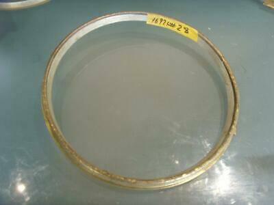 17921#28  vintage 10.5 inch  brass clock bezel   max od 262mm for 10 inch dial