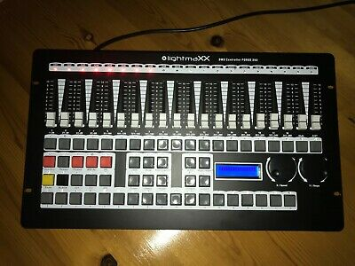 DJ DMX Lighting Controller FORGE 360 540 Scenes,36 Chaser,18 Fix. EXC. CONDITION