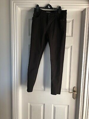 Black Next Boys Jeans Age 14 Great Condition Skinny Fit