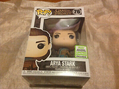 Funko Pop Arya Stark Game of Thrones ECCC 2019 Exclusive