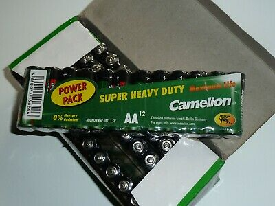 60 Camelion Super  AA (4 x 12 Shrink), Batteries