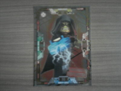 LEGO STAR WARS Serie 1 LIMITIERT LAUERNDER IMPERATOR LE18 Trading Card Karte