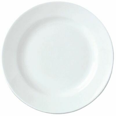 Pack of 36 Steelite Simplicity White Harmony Plates 165mm Porcelain