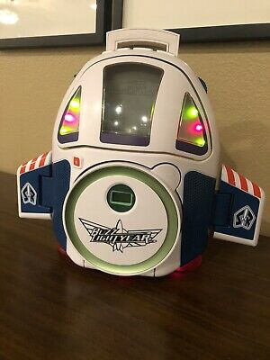 Disney Toy Story Buzz Lightyear Light Year Cd Player Boombox Spaceship Ts500B