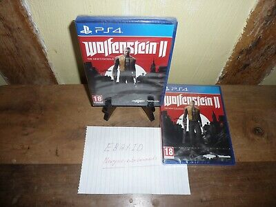 Wolfenstein 2 The New Colossus Sony PS4 Brand New Sealed