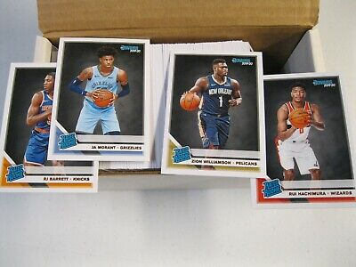 2019 20 Donruss BKB Set 1-250 W/ All Rated RC'S Williamson Morant FREE SHIPPING