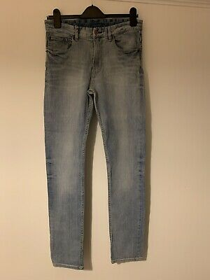 H&M Light Blue Denim Skinny Fit Jeans Age 14 Years + Boys Worn Once