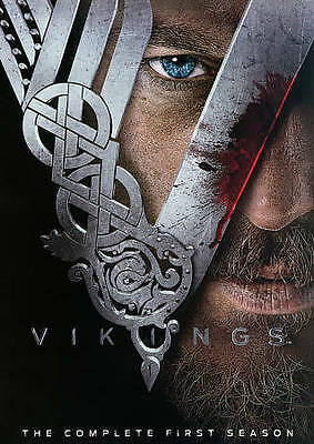 Vikings: The Complete First Season (DVD, 2013, 3-Disc Set) New & Sealed.