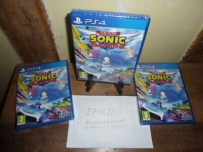 Team Sonic Racing Sony PS4 Brand New Sealed