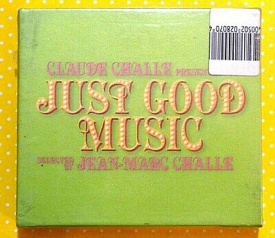 JUST GOOD MUSIC  selected by JEAN-MARC CHALLE  -  3 CD 2006 NUOVO E SIGILLATO