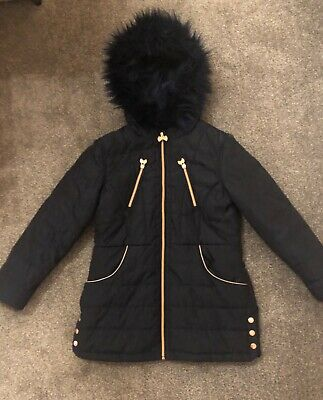 Navy Blue Girls Ted Baker Coat Age 12