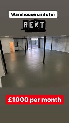 Warehouse Unit Business Office Industrial Space Property Store Distribution Rent
